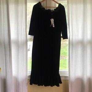 Dresses & Skirts - Misslook Velvet Dress